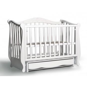 Кровать Колисаны Лотос белый, белый