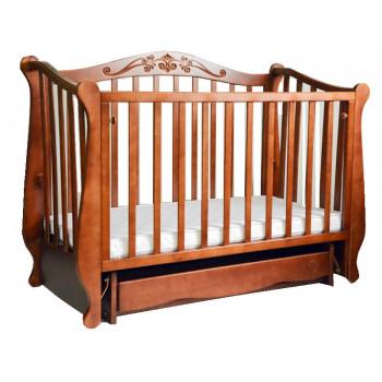 Кровать Колисаны Лотос орех, коричневый