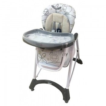Стул Baby Mix YQ-198 YQ-198 grey, grey, серый