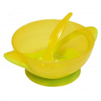 Тарелка на присоске Baby Mix RA-D2-0611 RA-D2-0611 Y, yellow, желтый