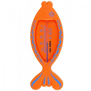 Термометр для ванночки Baby Mix RA / BD19133 Рыбка RA / BD19133O, orange, оранжевый