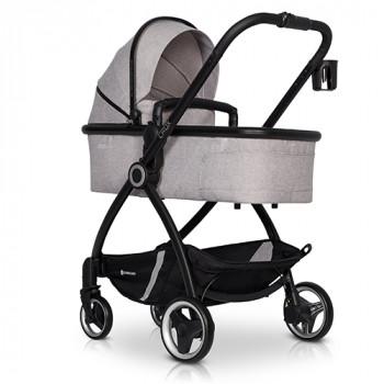 Коляска 2 в 1 Euro-Cart Crox Pearl, серый