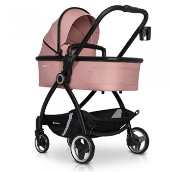 Коляска 2 в 1 Euro-Cart Crox Rose, розовый