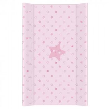Пеленальная доска Cebababy 50x80 Basic line W-210-066-130, Звездочка розовая, розовый