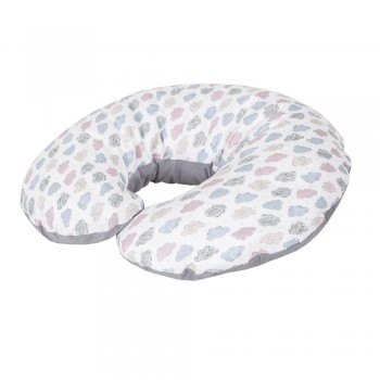 Подушка для беременных Ceba Physio Mini джерси W-702-700-530, Amore, белый / беж