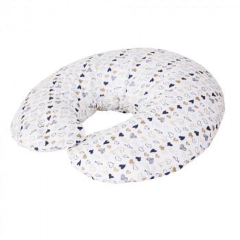 Подушка для беременных Ceba Physio Mini джерси W-702-700-528, Clouds, мультиколор