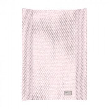 Пеленальная доска Cebababy 50x70 Pastel Collection English rib W-200-100-552, pink, розовый