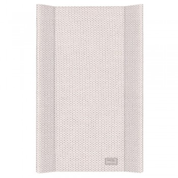 Пеленальная доска Cebababy 50x80 Pastel Collection English rib W-210-100-553, beige, бежевый