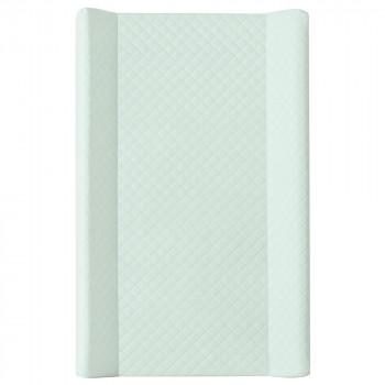 Пеленальная доска Cebababy 50x80 Caro soft W-112-079-157, mint, мятный