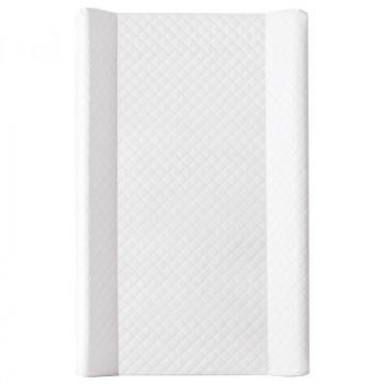 Пеленальная доска Cebababy 50x80 Caro soft W-112-079-101, white, белый