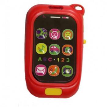 Пластиковый музыкальный Телефон Baby Mix KP-0880 KP-0880, blue, голубой