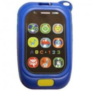 Пластиковый музыкальный Телефон Baby Mix KP-0880 KP-0880, red, красный