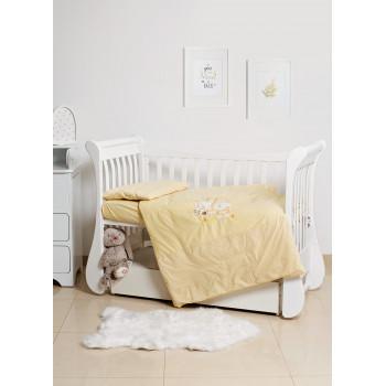 Сменная постель 3 эл Twins Limited 3099-TL-002, Dog & cat yellow, желтый