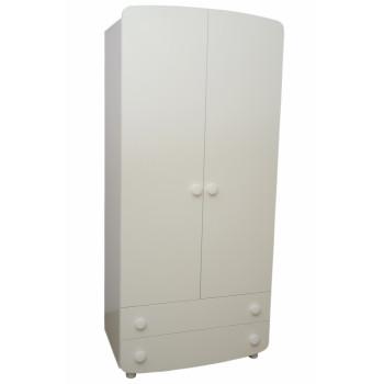 Шкаф Верес №1 38.1.2.06, белый, белый