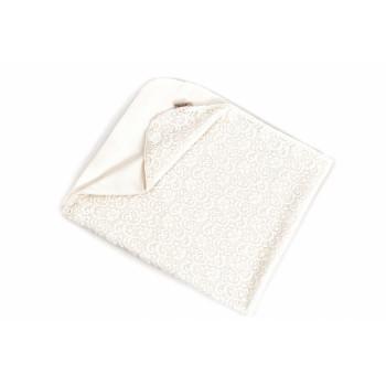 Крыжма - плед Twins Celebrity 110x90 1404-01, white, белый