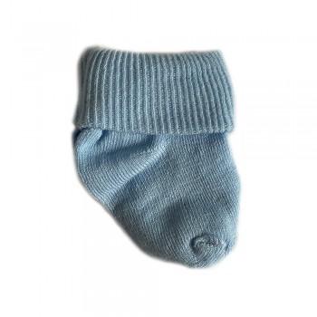 Шкарпетки бавовняні 0-3 м blue, блакитний, 0-3
