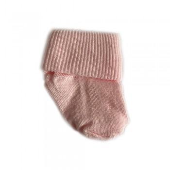 Шкарпетки бавовна 0-3 м pink, рожевий, 0-3