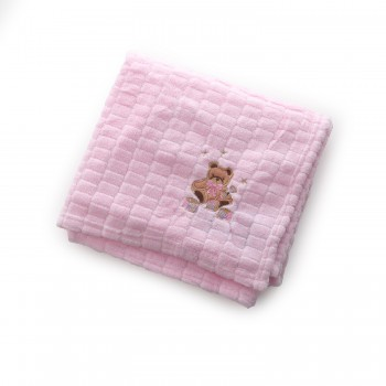 Плед Baby Mix TG-84230 80x110 TG-84230 pink, pink, розовый