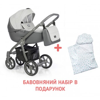 Коляска 2 в 1 Roan Esso Neutral Graphite, сірий