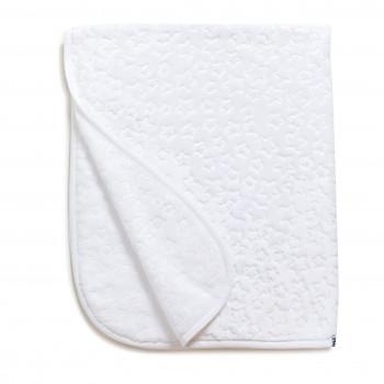Плед Twins велюр Зірочка 80*104 1406-TVZ-01, white, білий
