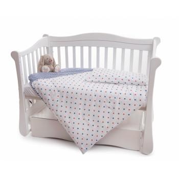 Сменная постель 2 эл Twins Premium 3027-P-071, Марракеш, синий / белый
