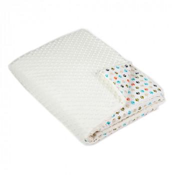 Одеяло в кроватку Twins Minky 120x160 1601-189-02, ecru, бежевый