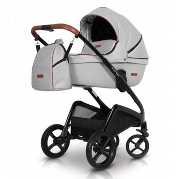 Коляска 2 в 1 Euro-Cart Express grey fox, серый