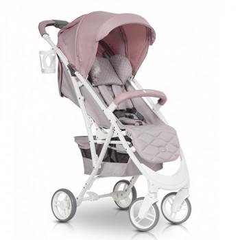 Коляска Euro-Cart Volt Pro powder pink, розовый