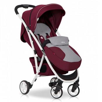 Коляска Euro-Cart Volt purple, бордо