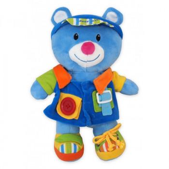 Плюшевая игрушка Baby Mix TE-9823-25 Мишка TE-9823-25 D, dark blue, голубой