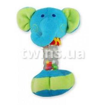 Плюшевая подвеска музыкальная Baby Mix YF-1069 YF 1069 E Слоник, blue, голубой