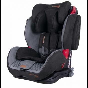 Автокресло Coletto Sportivo Isofix 9-36 9024-CSIs-10/13 grey / black, серый / черный