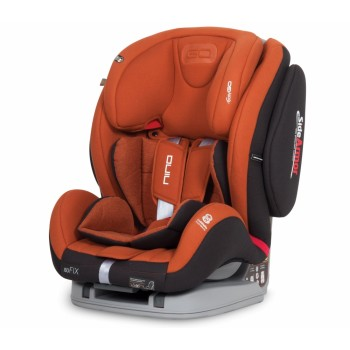 Автокресло EasyGo Nino Isofix 9-36 copper, оранжевый