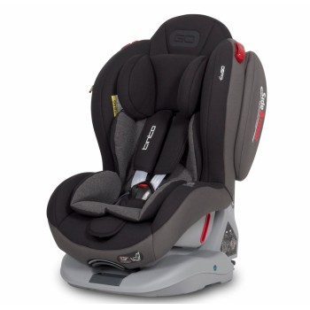 Автокресло EasyGo Tinto 0-25 9024-EGT-13 carbon, черный