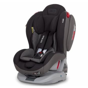 Автокрісло EasyGo Tinto 0-25 9024-EGT-13, carbon, чорний