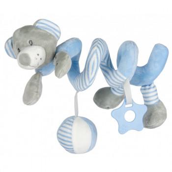 Плюшевая спираль Baby Mix STK-19391B Мишка STK-19391 BB, blue, голубой