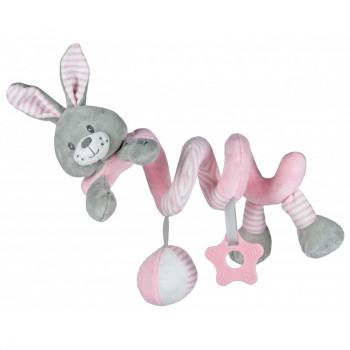 Плюшевая спираль Baby Mix STK-19391R Кролик STK-19391 PR, pink, розовый