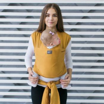 Слинг - шарф Love & Carry LC417, Мед, желтый
