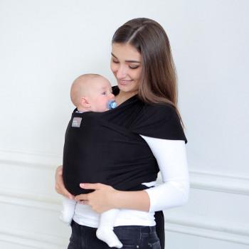Слинг - шарф Love & Carry LC416, Оникс, черный
