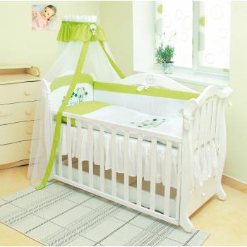Постельный комплект 7 эл Twins Evo Лето 4073-А-018, green, зеленый