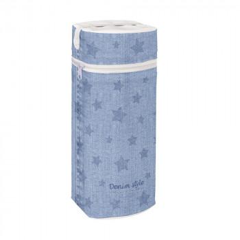 Термоупаковка Cebababy Jumbo Denim Style W-005-119-587, Stars blue, голубой