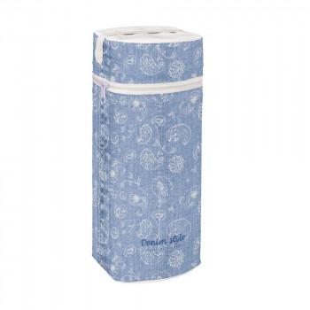 Термоупаковка Cebababy Jumbo Denim Style W-005-119-592, Boho blue, голубой