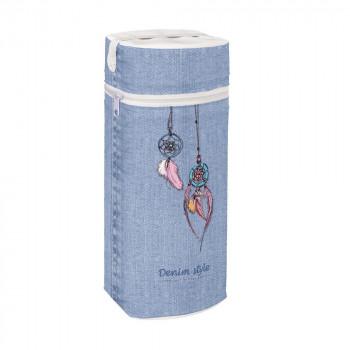 Термоупаковка Cebababy Jumbo Denim Style W-005-119-598, Catcher blue, голубой