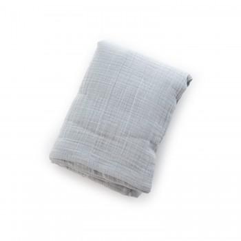 Пеленка Twins муслиновый 110х75 моно 1610-TPM-10 grey, серый