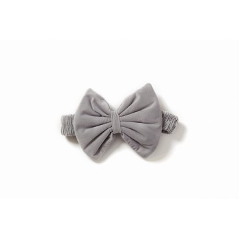 Декор Бантик в конверт Twins Bear & Velvet 7099-DB-10 grey, серый