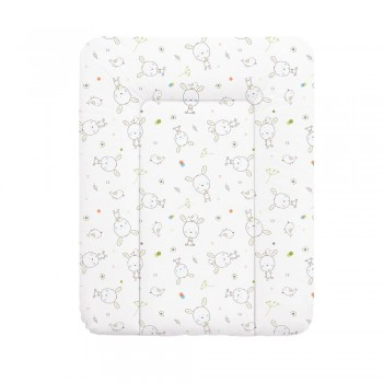 Пеленальный матрас Cebababy 50x70 Basic line W-143-903-100, Сон белый, белый