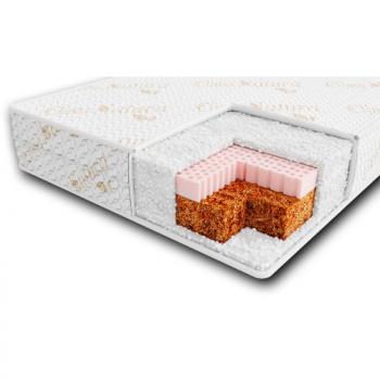 Матрас Veres Latex + memory Organic120х60х10 51.6.01, white, белый