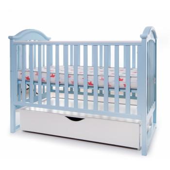 Кровать Twins iLove L100-L-04 голубой, голубой