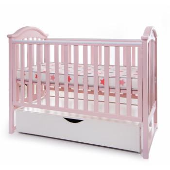 Кровать Twins iLove L100-L-08, розовый, розовый