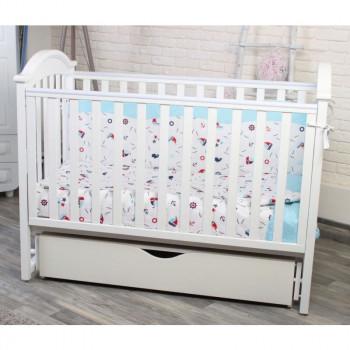 Кровать Twins iLove L100-L-01, белый, белый